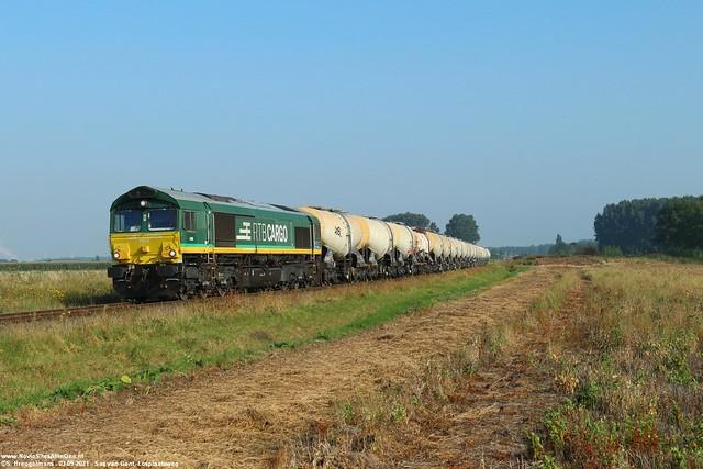 RTB Cargo V266 - Sluiskil (NL) 03-09-2021.