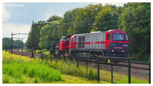 Independent Rail Partner/LiNEAS 2101+  2211 Dordrecht -Zuid (NL)