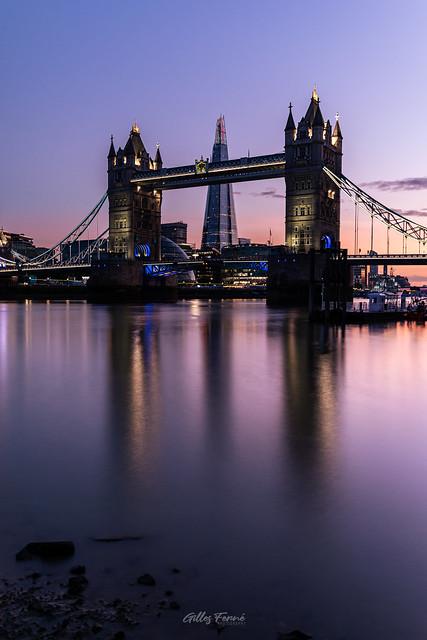 Tower Bridge & The Shard, London