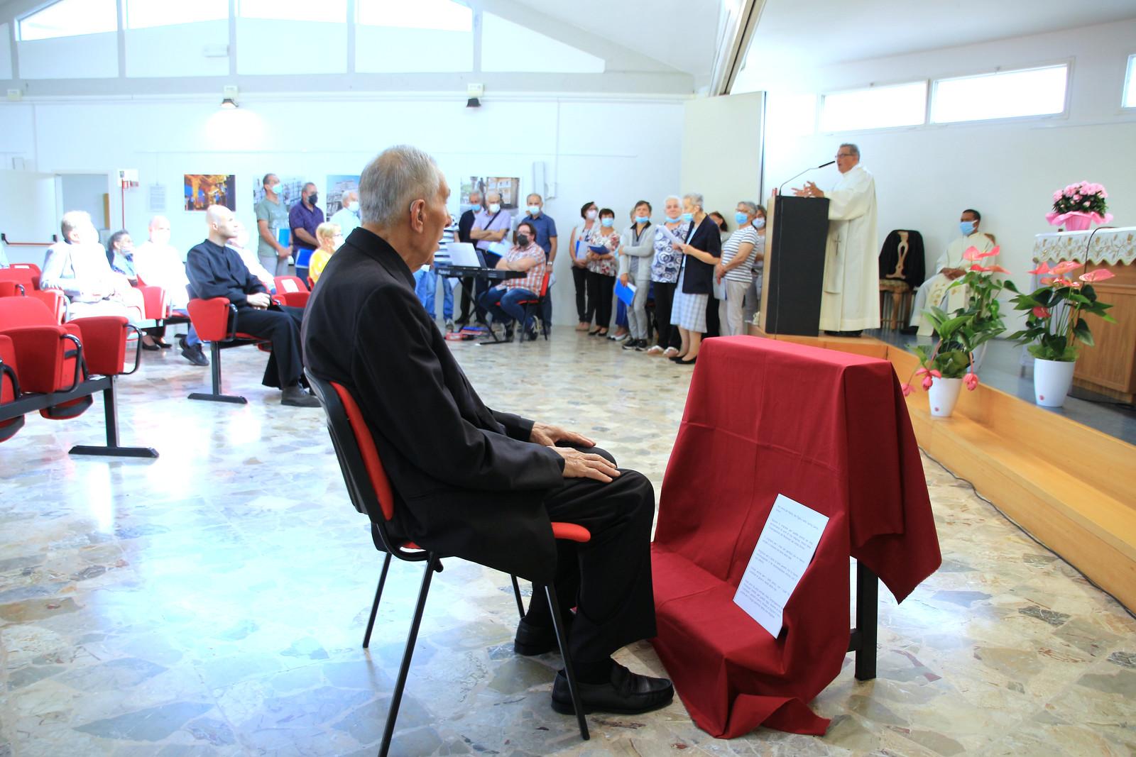 SVD - Fra Luigi 65 anni voti religiosi 2021