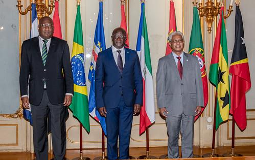 21.09. Secretário Executivo recebe Representante da Guiné-Bissau junto da CPLP