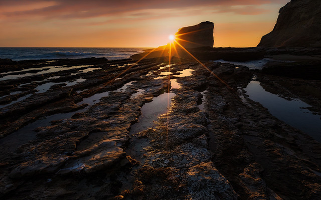 Sunset - Panther Beach