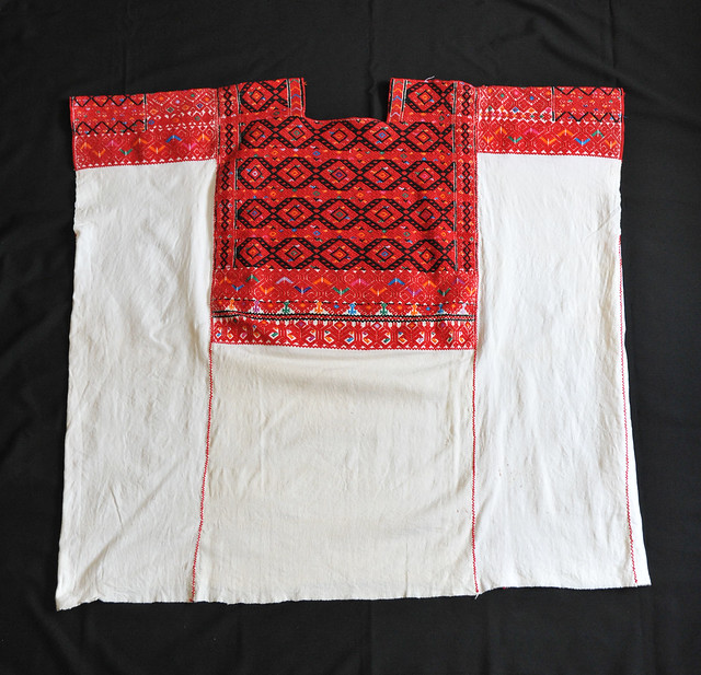 Huipil Maya Mexico Chiapas Textiles Weaving
