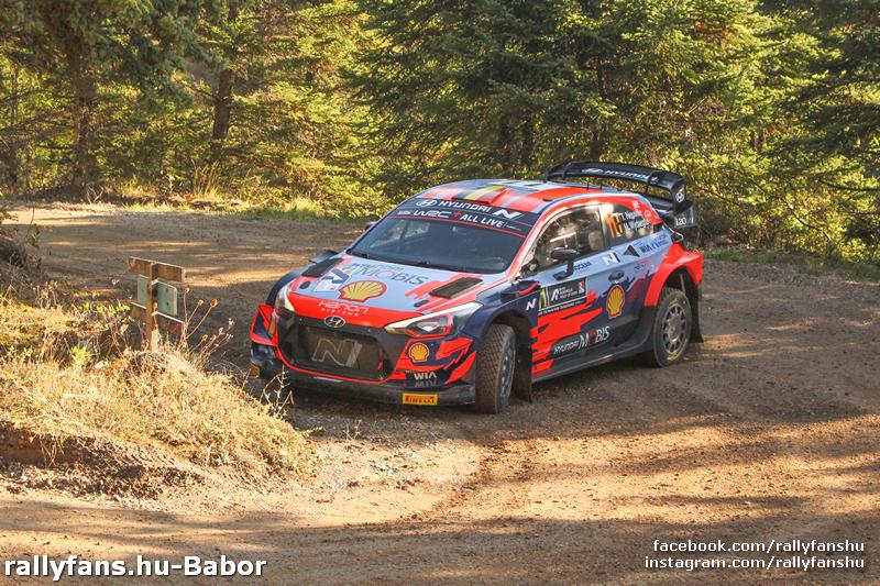 WRC Akropolisz Rally 2021 SS7  Pavliani