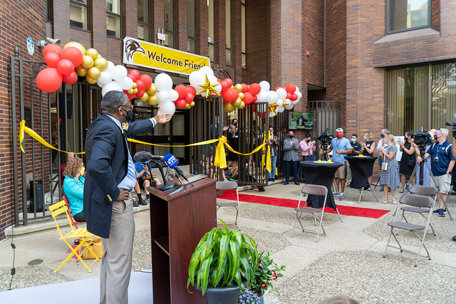 Parkway Building Ribbon-Cutting Celebration