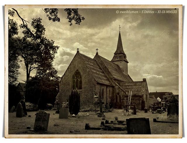 St. Luke's Church - Sepia