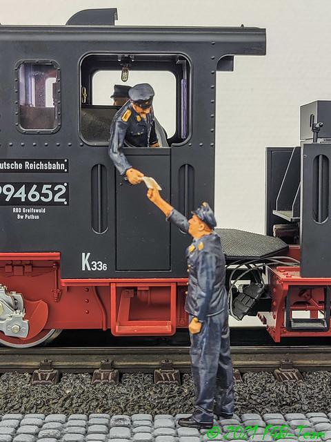 VB Übergabe 1 - Lokführer - Übergabe 2 - Protokoll