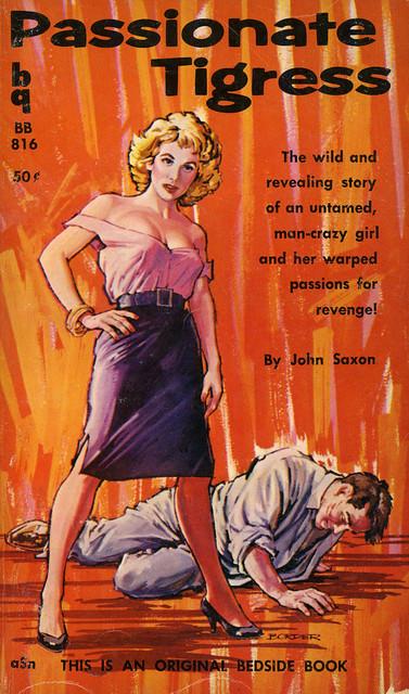 Bedside Books 816 - John Saxon - Passionate Tigress