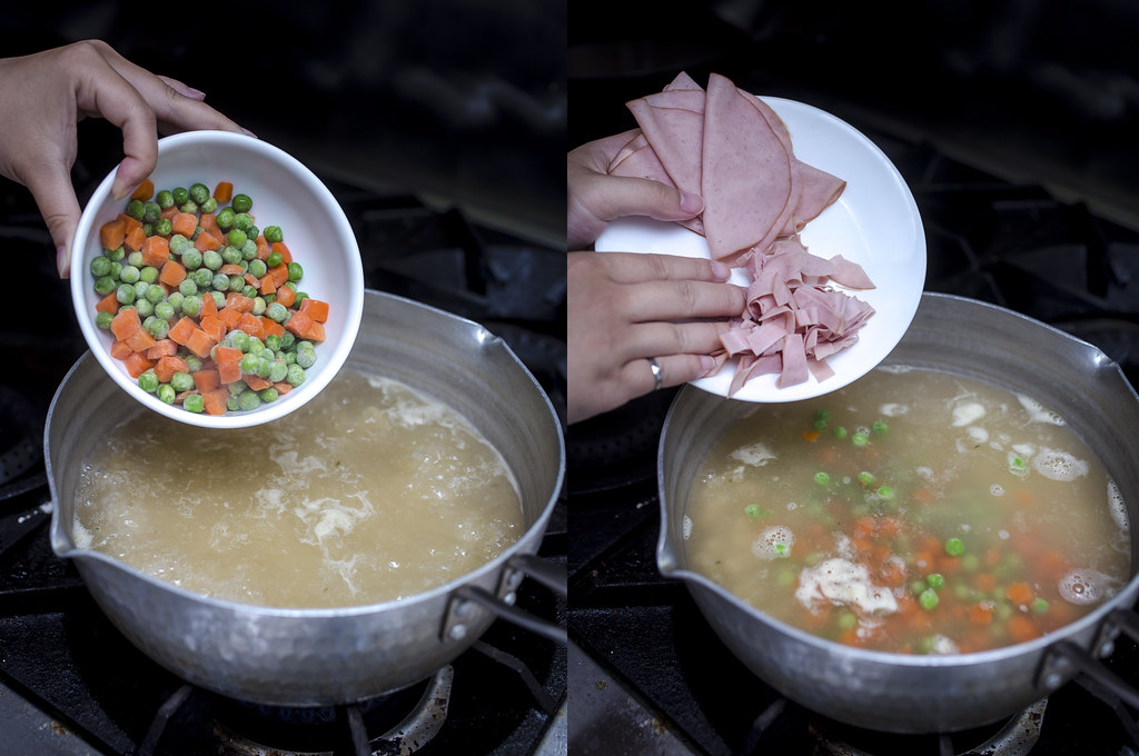 Turkey Deli Macaroni Soup