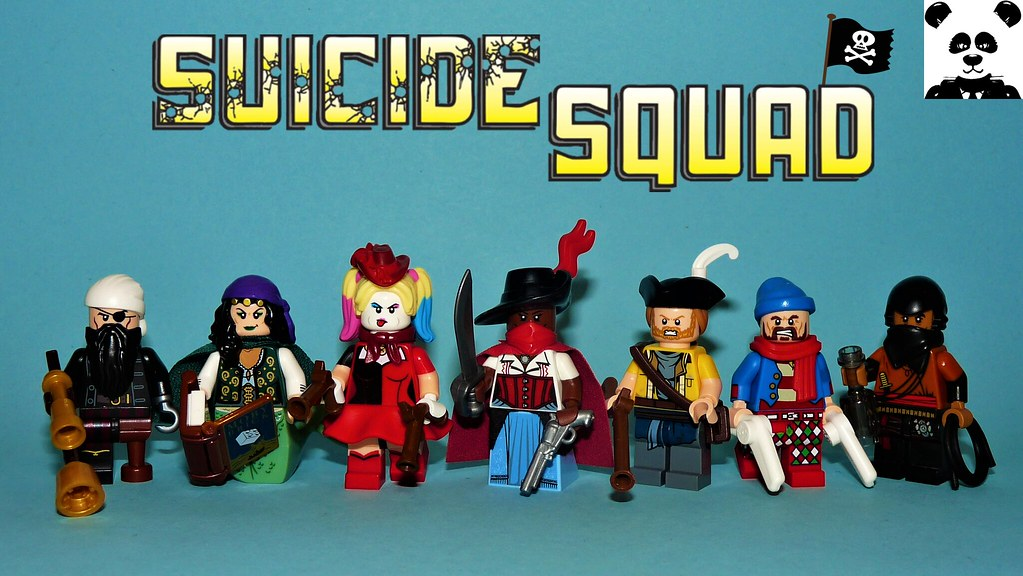 Suicide Squad But They're Pirates?