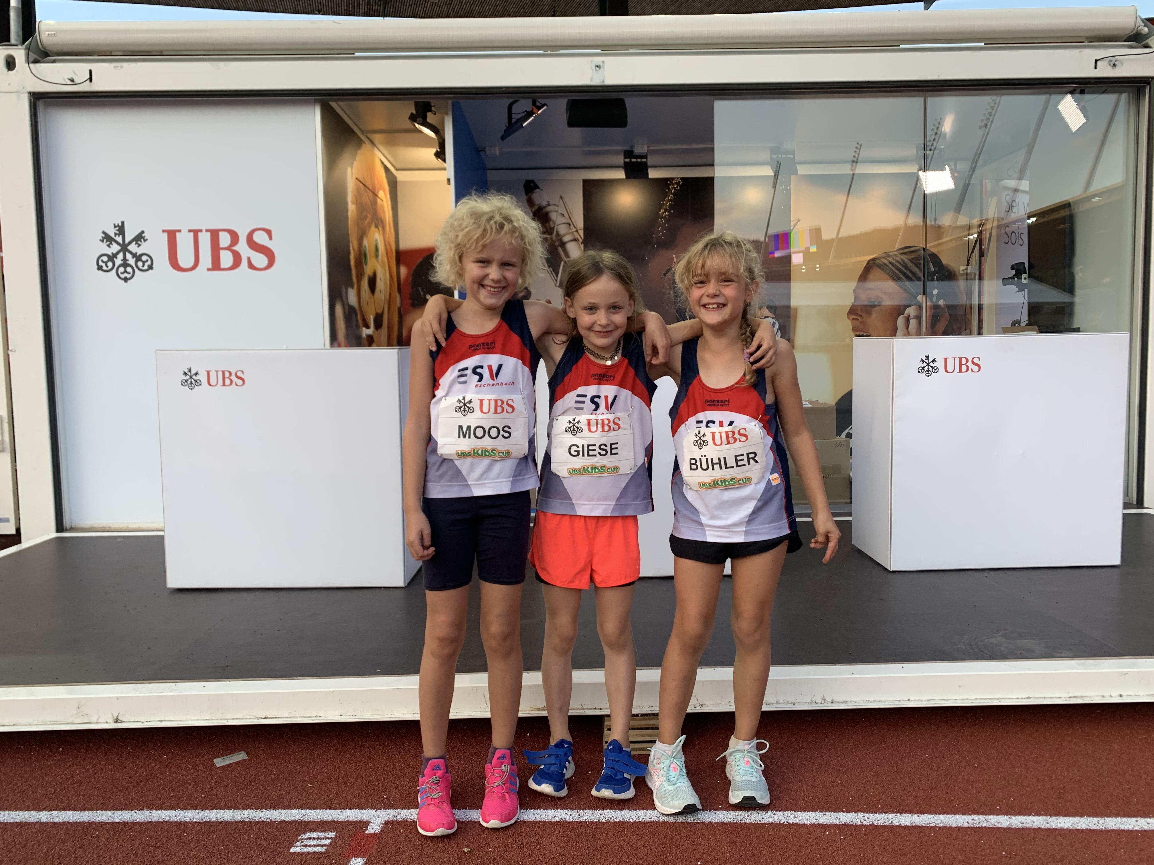 UBS Kids Cup Schweizerfinal: Zwei Diplomränge für den ESV Eschenbach