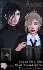 [^.^Ayashi^.^] Asao hair special for Black Fair