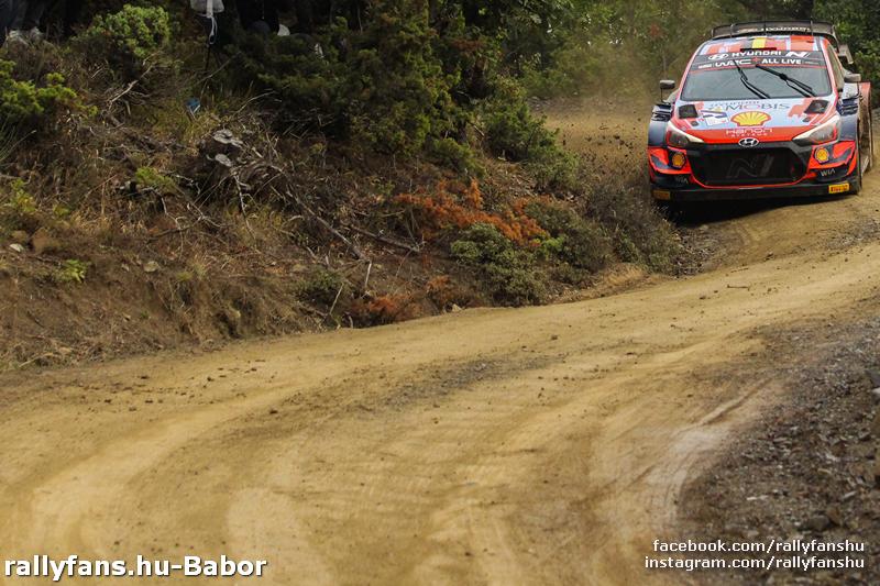 WRC EKO Acropolis Rally 2021 SS13 Tarzan Hyundai i20 WRC
