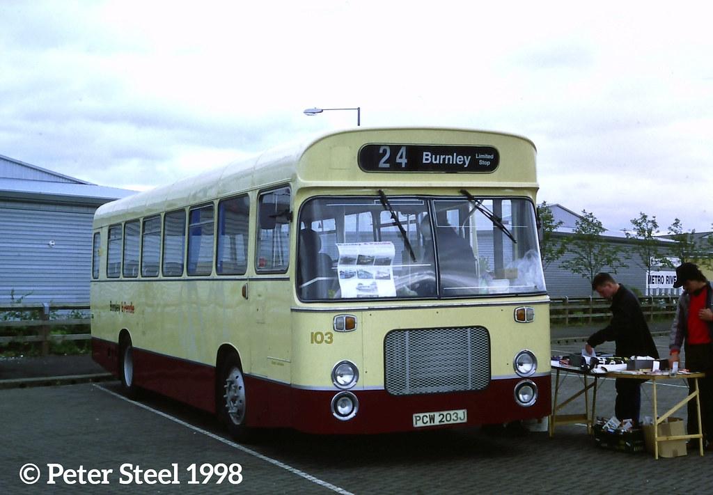 Preserved Burnley & Pendle Transport - 103 PCW203J - Bristol RESL6L - Seddon