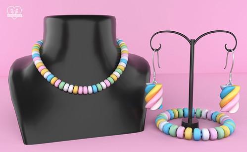 New - Candy Jewelry Set