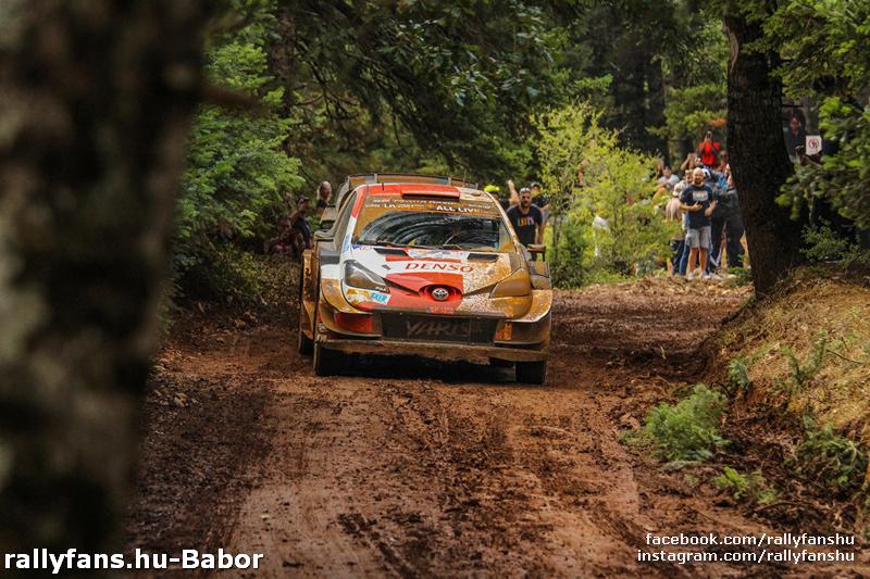 WRC EKO Acropolis Rally 2021 SS12  Eleftherohori Kalle Rovanpera
