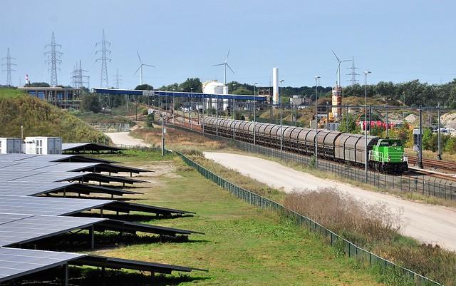 RTX 6484 met zinkertstrein van zinkfabriek Balen @ Balen Werkplaatsen