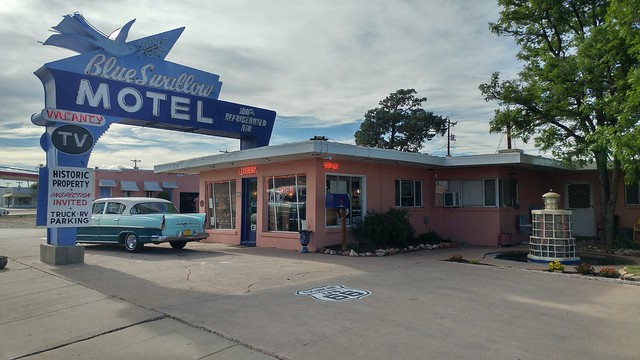 Blue Swallow Motel, Historic US 66, Tucumcari, NM (3)