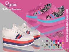 Hilly Haalan - Byrnne Platform Sneakers
