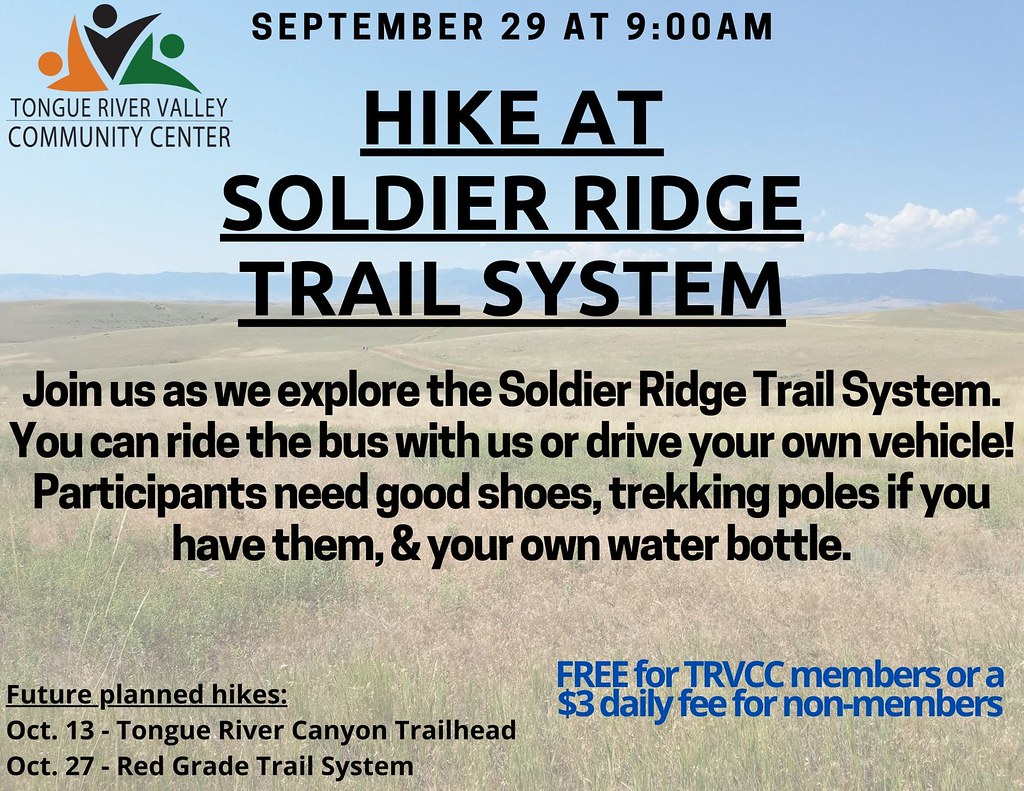 hike at soldier ridge trail system