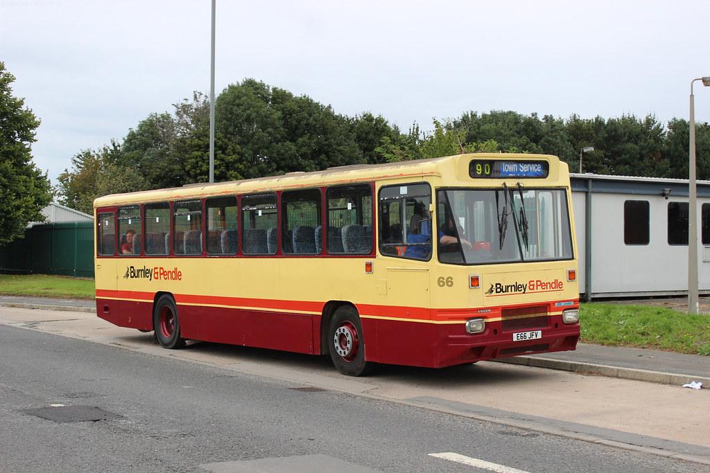 (Preserved) Burnley & Pendle - E66JFV