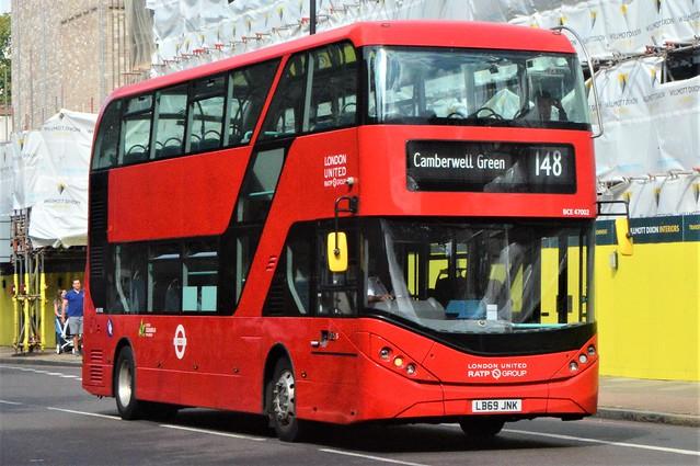 LB69 JNK (BCE47002) RATP Group London United