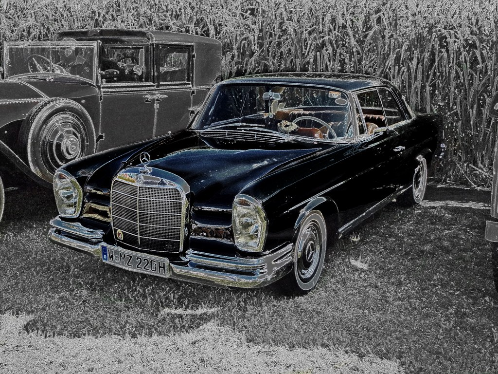 1965 Mercedes Benz 220 SE Coupe         Classic Days 01.08.2015