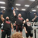 The top three at Britain's Strongest Man 2017