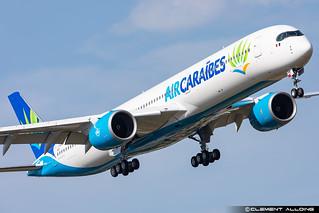 Air Caraïbes Atlantique Airbus A350-1041 cn 533 F-WZNK // F-HSIS