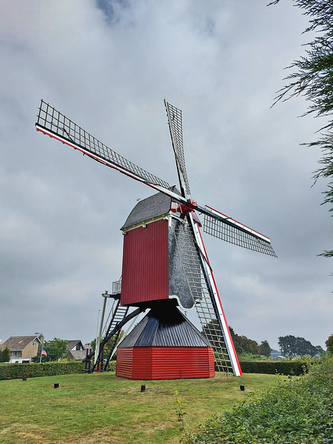 Grain mill Moergestel - The Netherlands (124416)