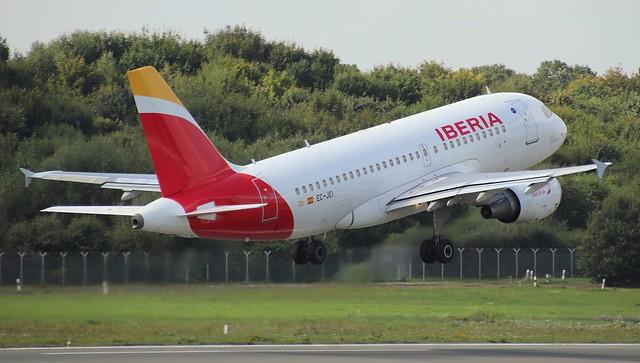 Iberia, EC-JEI, MSN 2311,Airbus A319-111, 04.09.2021,HAM-EDDH, Hamburg