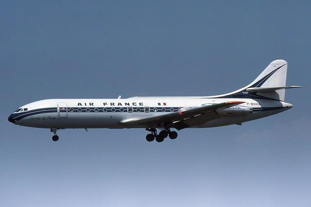 F-BOHA Heathrow 3-7-1977