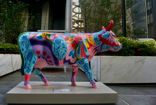 Don't have a cow, man! - Hudson Yards, New York City