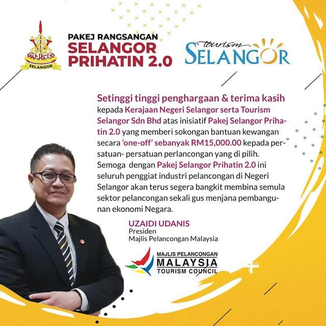 Artwork  Presiden Majlis Pelancongan Malaysia