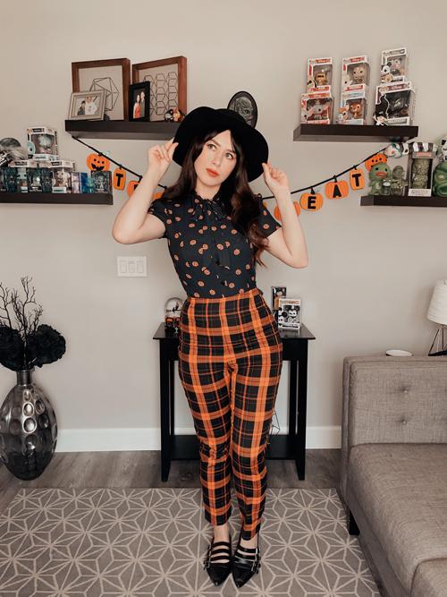 Black and Orange Halloween Looks