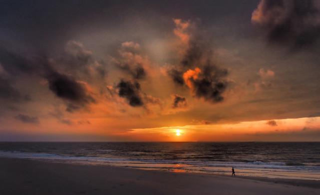 North Sea Sunset (explored)