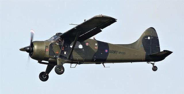 De Havilland Canada DHC-2 Beaver AL-1 G-CICP  Army Air Corps s/n XP820