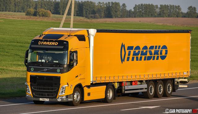 Volvo FH4 Globetrotter 460 Trasko (RUS)