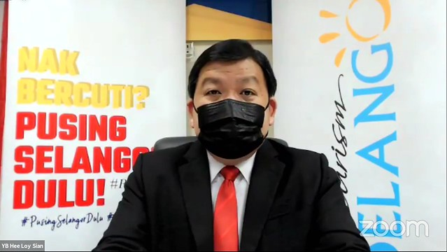 Y.b. Tuan Hee Loy Sian, Exco Pelancongan Dan Alam Sekitar Negeri Selangor