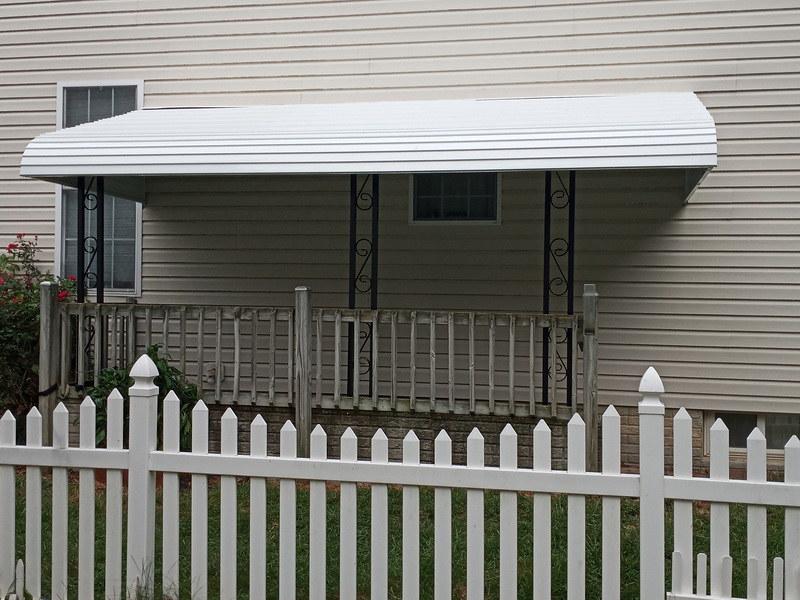 Porch Aluminum Awnings Baltimore-Hoffman Awning
