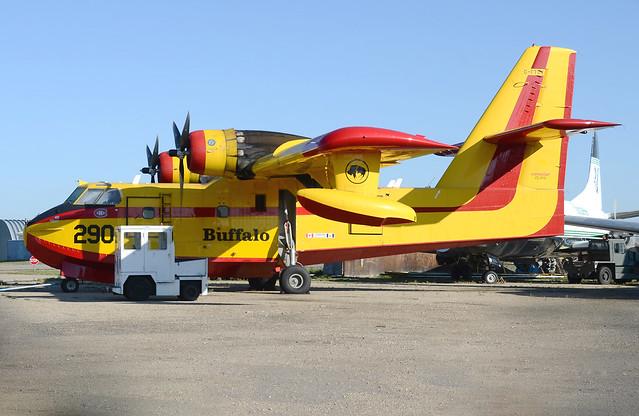 C-FTOV at Red Deer