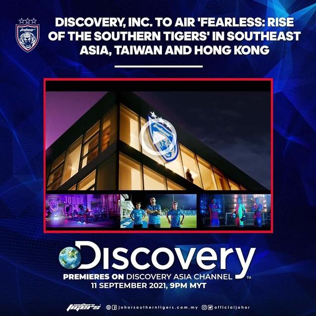 Discovery, Inc. Akan Menyiarkan 'Fearless: Rise Of The Southern Tigers' Di Asia Tenggara, Taiwan Dan Hong Kong