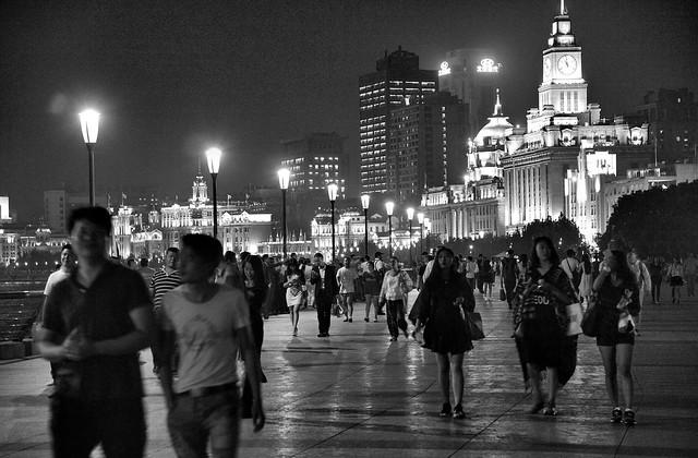 Shanghai  - Promenade People