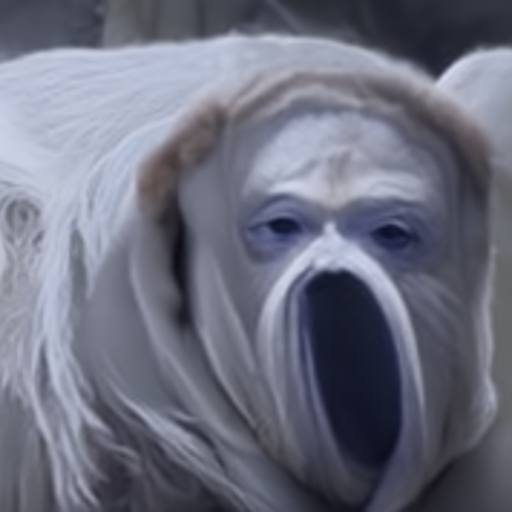 'a nightmare creature' Quick CLIP Guided Diffusion