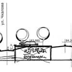 Верхне-Троицкий рынок - Поперечный профиль улицы PAPER800 [Бердик А.Н.] [Житников В.В.]