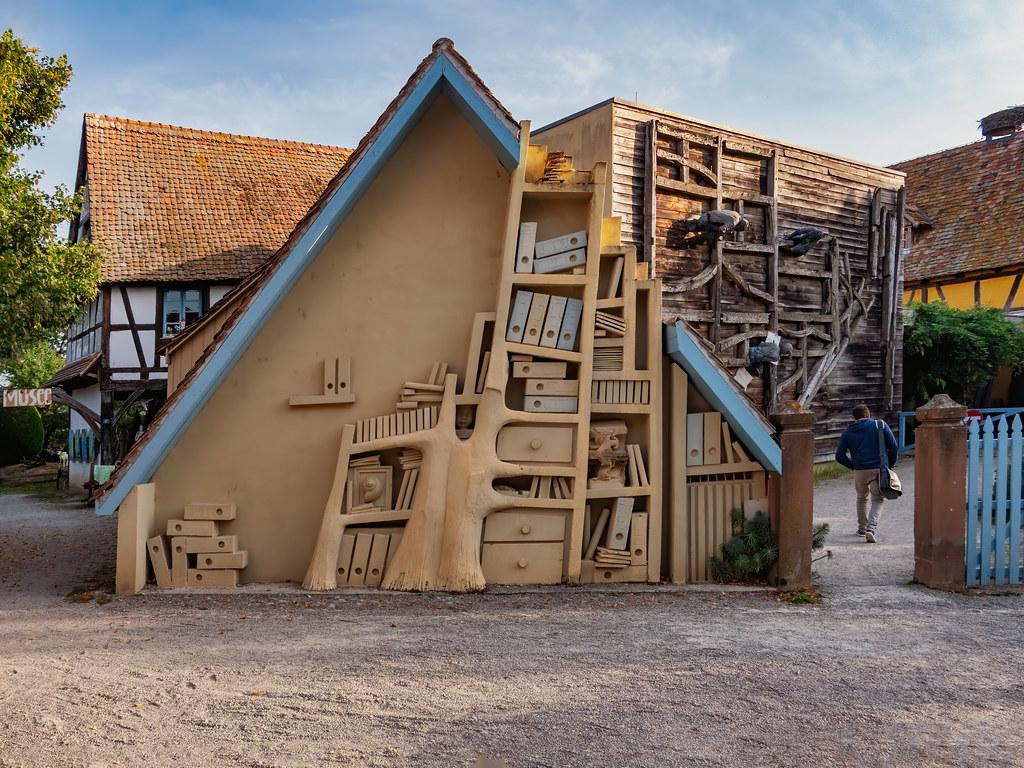La Cour des Charpentiers de l'Ecomusée d'Alsace... 51470916106_ea4468eb83_b