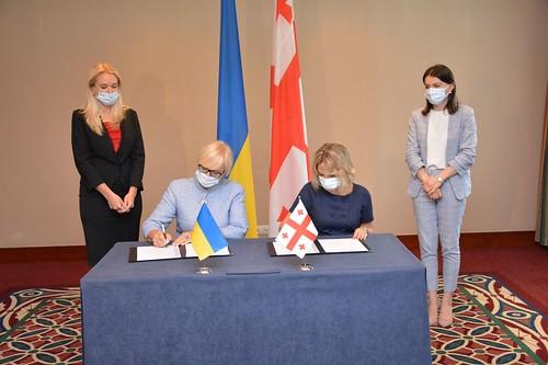 უკრაინის ომბუდსმენმა და საქართველოს სახალხო დამცველმა თანამშრომლობის შესახებ მემორანდუმი გააფორმეს / Ombudsman of Ukraine and Public Defender of Georgia Sign Memorandum of Cooperation