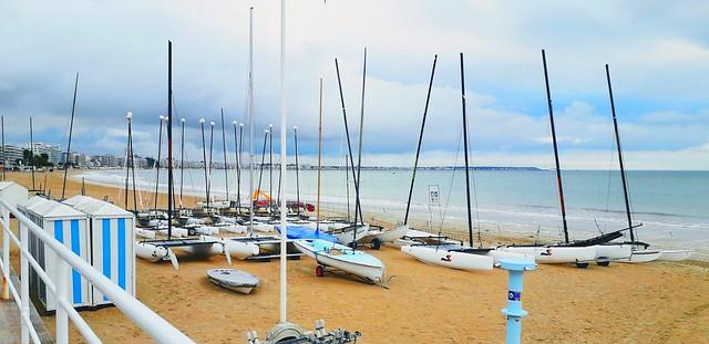 La Baule, la plage.