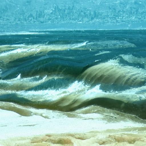 'a rough seascape' Quick CLIP Guided Diffusion
