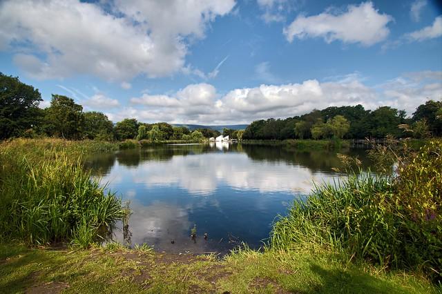 Boating Lake -- Cwmbran